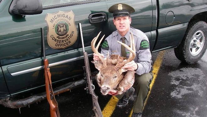 """Retired Conservation Officer John Borkovich has written a book about his career called """"Wildlife 911: On Patrol."""""""