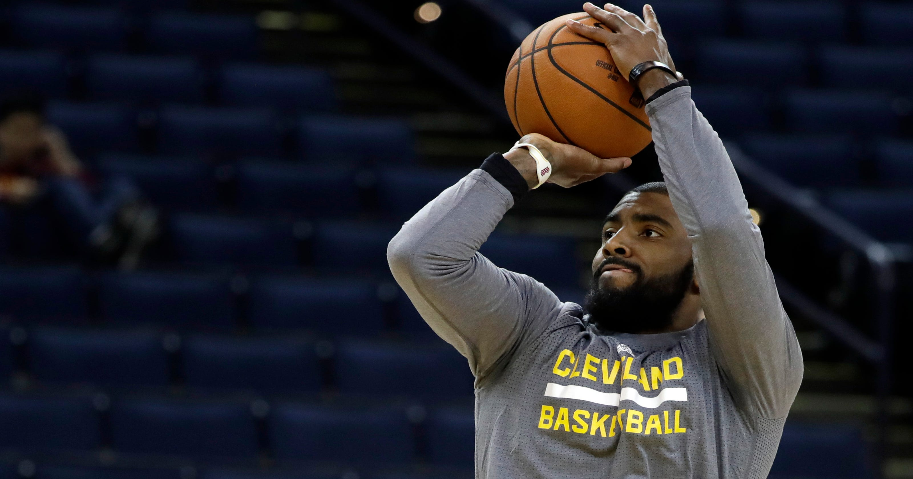 d4f95225b70 Gamer  Cavs  Irving to appear on cover of NBA 2K18 video