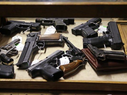 Law Enforcement Selling Guns