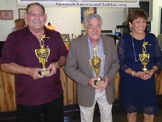 Spanish American Club Billiard Tournament winners,