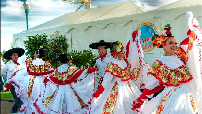 Ballet Folklorico Tlanese is performing 2 p.m. Sunday in the Amphitheater at the World Beat Festival.