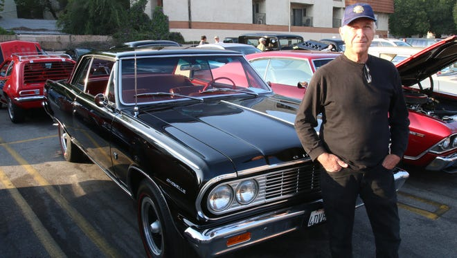 Richard Poulson, a retiree, restored this 1964 Chevrolet Chevelle to perfection.