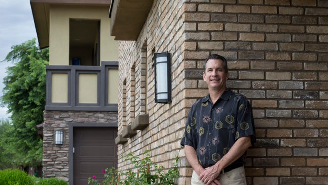 """Matt Cody, president of Cachet Homes, says: """"I think you just treat people the way you'd like to be treated. ... Good communication and honesty is our approach, and that's why we're where we are today."""""""