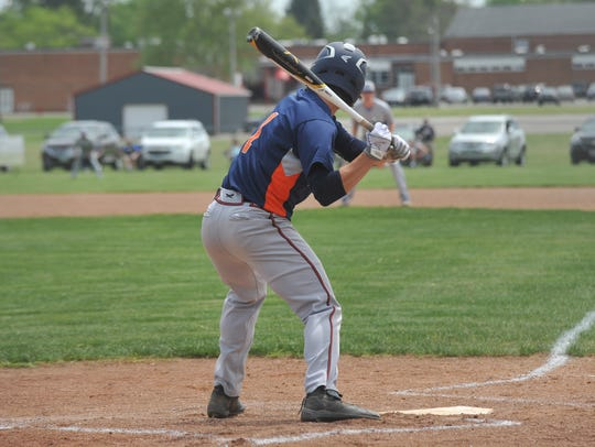 Galion's Ryan Utz scored a run and drove in a pair