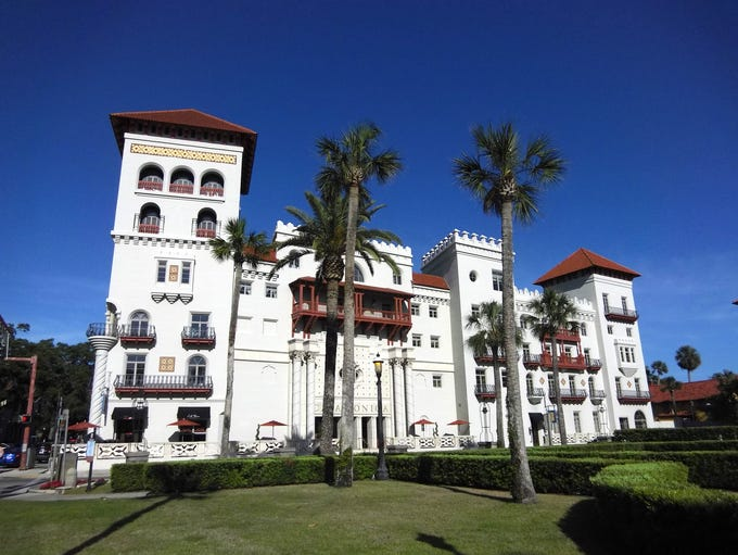 Casa Monica Resort & Spa sits in the heart of St. Augustine's
