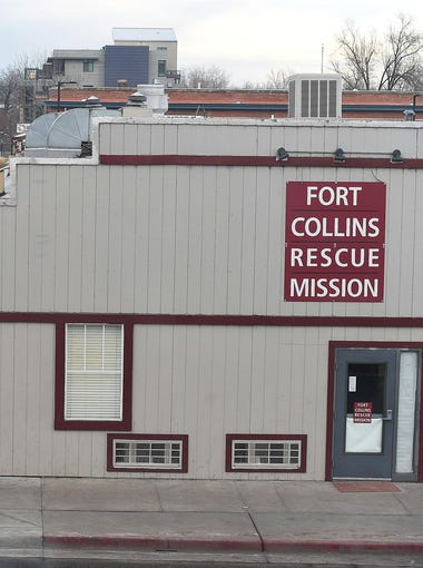 High-dollar redevelopment is enveloping Fort Collins' Linden Street, home to the Fort Collins Rescue Mission. The nonprofit currently has no plans to relocate.