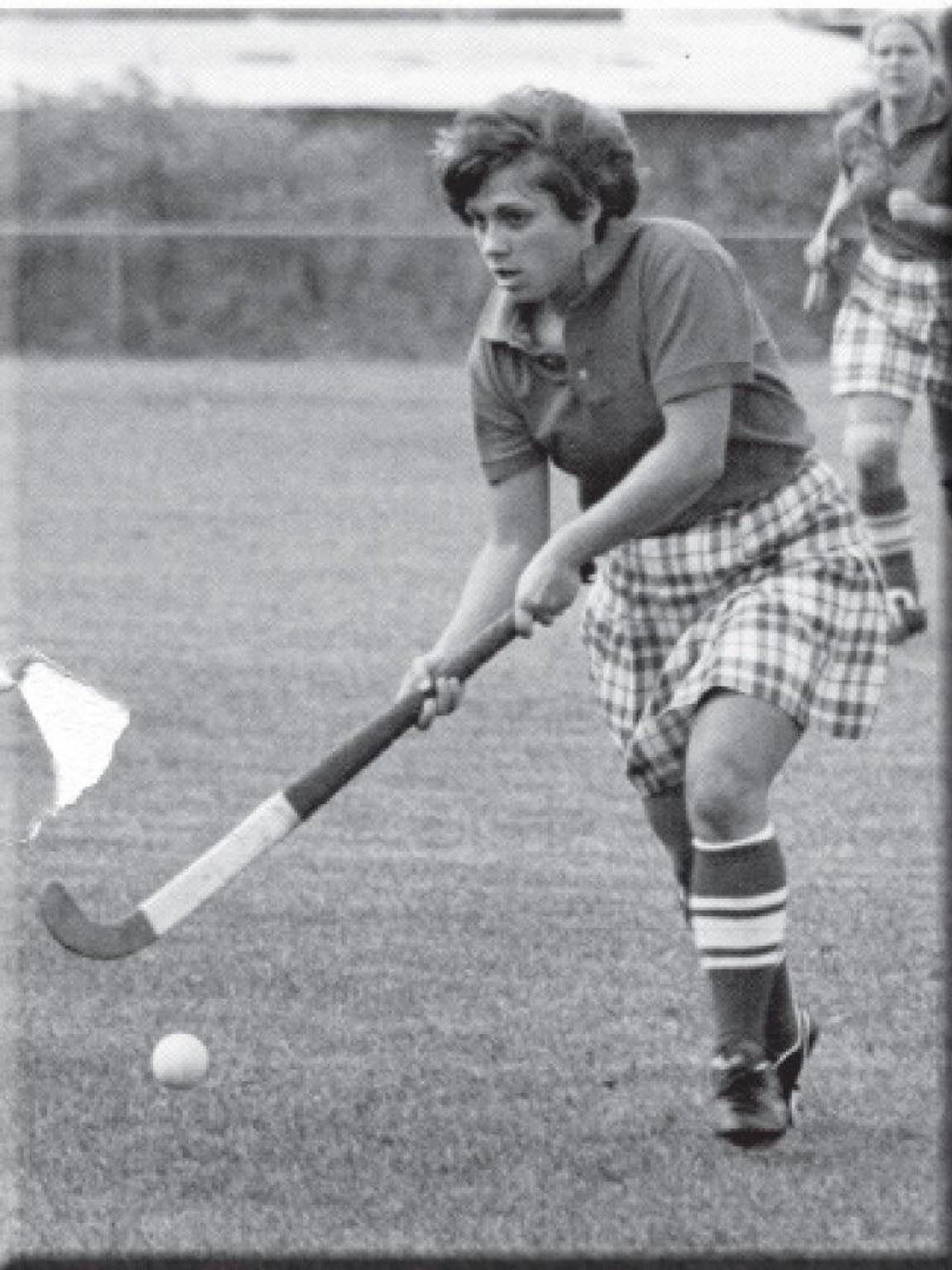 Regina Alonzo played Rutgers field hockey from 1976-79,
