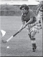 Regina Alonzo played Rutgers field hockey from 1976-79, after the program started in 1974.