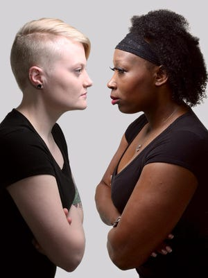 Tianna Williams (right) and Mandi Bray (left) Diversity in acting