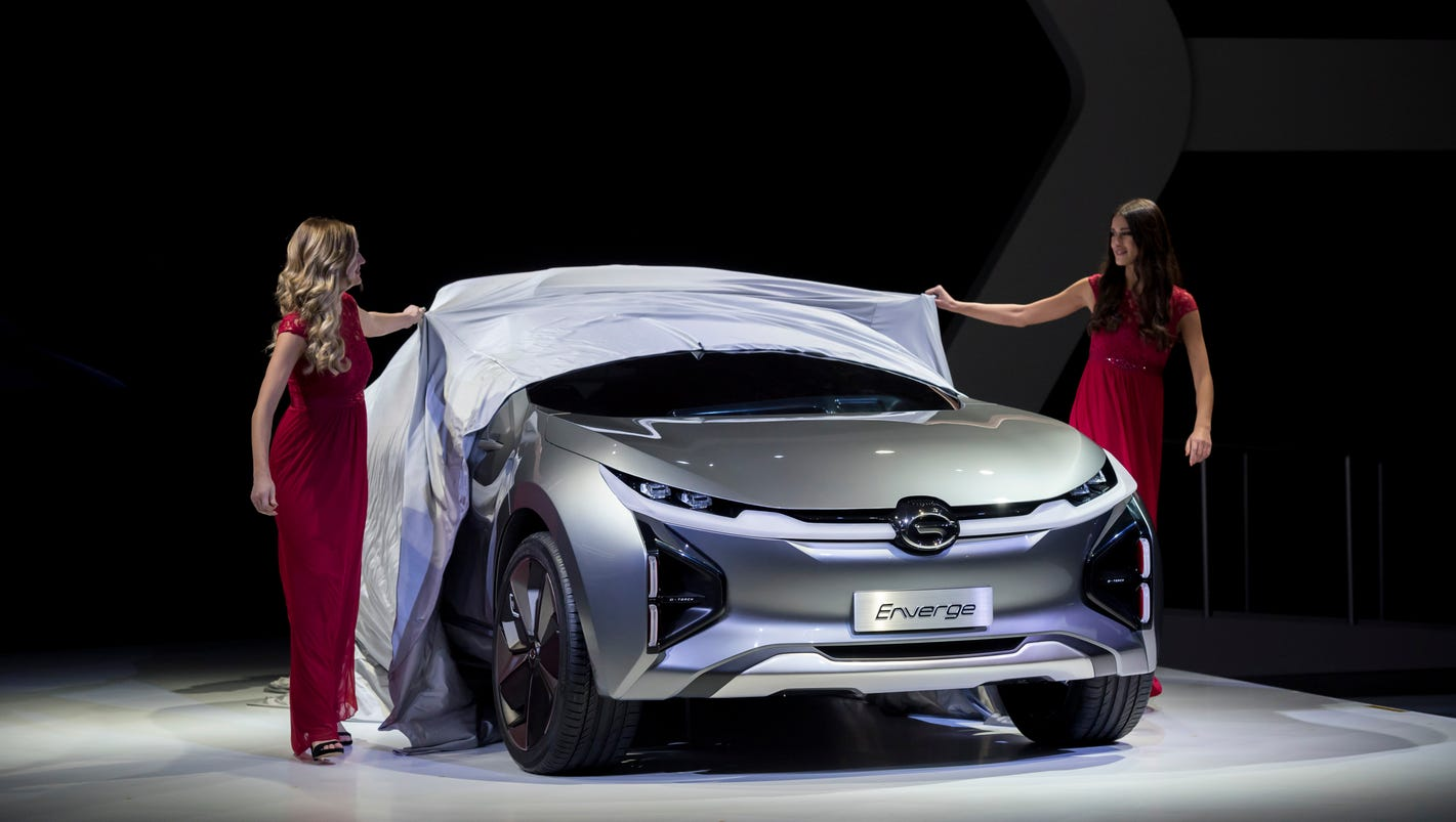 China's GAC introduces vehicles including Enverge electric concept