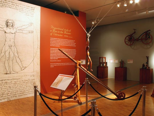 """Da Vinci Machines and Robots"" explores Leonardo da"