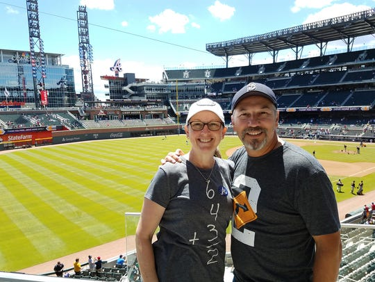 The Lovatos planned their ballpark tour for years,