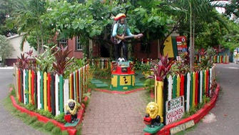 Who's up for a ganja tour? You can go straight to the source by signing up for one of these quickly proliferating tours highlighting Jamaica's biggest cash crop. One of the most popular is a bus trip to Nine Mile, the boyhood home and final resting place of reggae superstar Bob Marley.