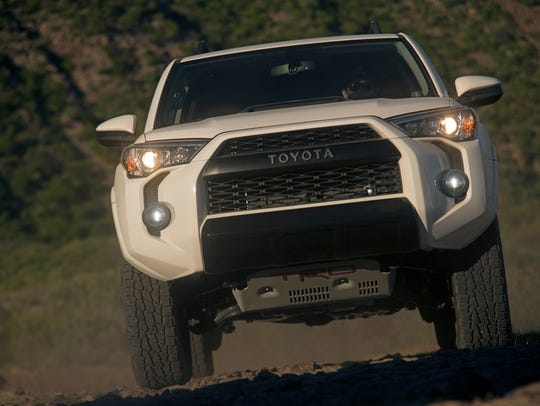 The Toyota TRD Pro trucks are meant for taking on the