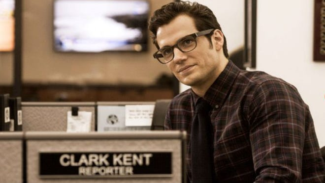 "Henry Cavill plays Clark Kent in ""Batman v Superman: Dawn of Justice."""