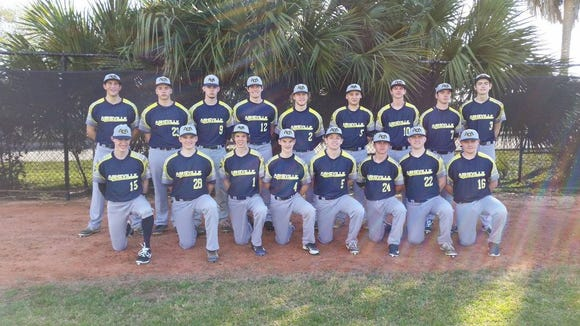 Asheville Christian Academy's baseball team.