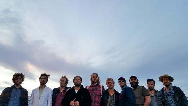 Edward Sharpe & the Magnetic Zeros play the Shelburne Museum on July 13 as part of the Concerts on the Green series.