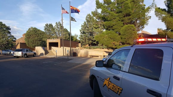 Two women were killed in a shooting at the Navajo County Superior Court in Holbrook on June 28, 2016.