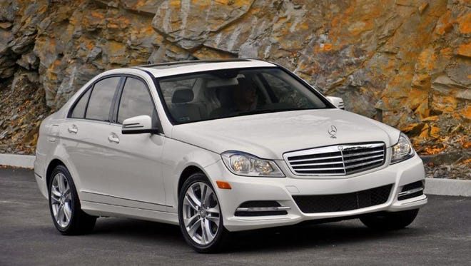 Stock photo of 2012 Mercedes-Benz C300