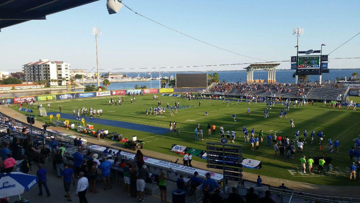 Uwf Football Blue Wahoos Stadium Ranked Among Top Division Ii Stadiums