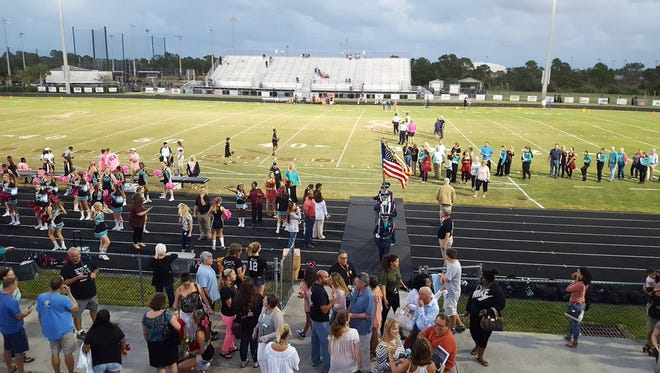 It was Senior Night for Jensen Beach Class of 2017 at Falcon Field on Friday, Oct. 28.