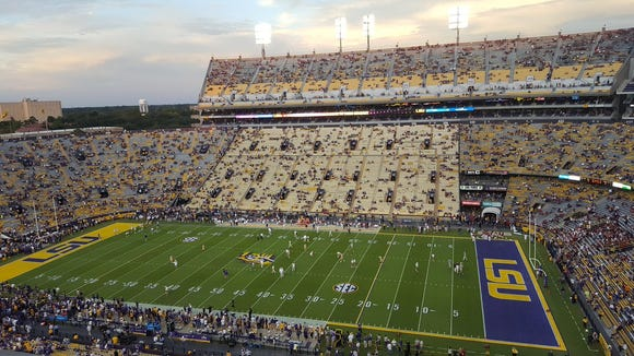 No. 1 Alabama visits Death Valley to face No. 13 LSU