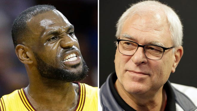 LeBron James took offense to a comment by Phil Jackson