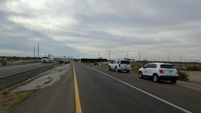 A commercial truck driver was killed in an accident along State Route 85 near Gila Bend on Dec. 28, 2016.