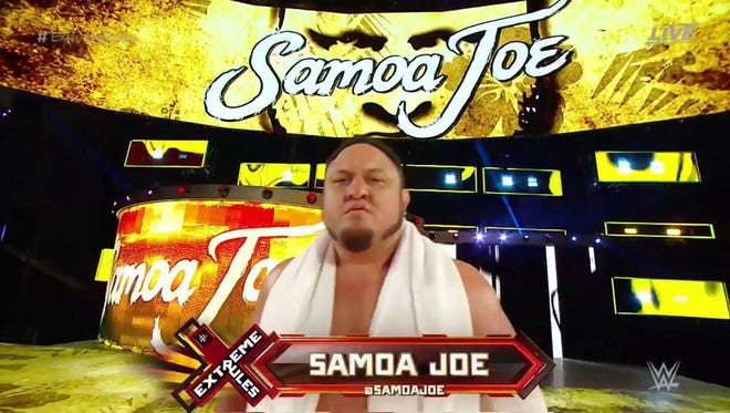 Samoa Joe set up a fight against Brock Lesnar at Great Balls of Fire on July 9 in Dallas.