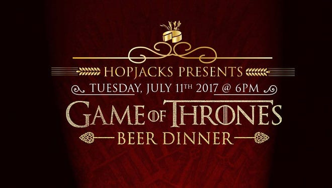 Hopjacks is hosting a four-course, Game of Thrones inspired dinner on July 11.