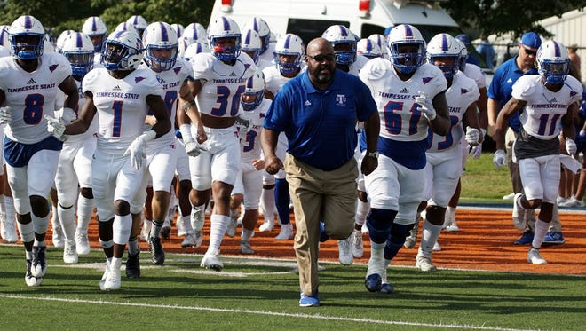 Tennessee State slipped form No. 20 to No. 24 in both FCS polls on Monday.