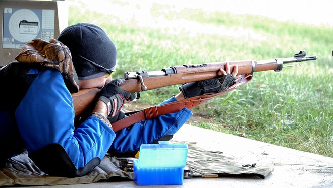 Bill Hemmingsen was the overall winner of the Vintage Military rifle event on Petrarca Range.