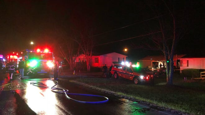 Division Street house fire where body was recovered.
