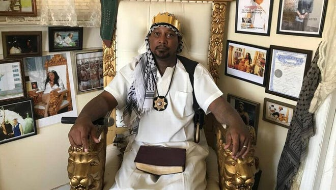 Father Jesus, 42, says he had his name legally changed in September. He wants the Planning Commission to designate a lot in North Gulfport for church use so he can build a castle for the religion he founded, The Saints of the Most High.