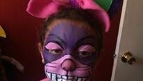 """The Cheshire Cat from Art of Love's """"Alice in Wonderland."""""""