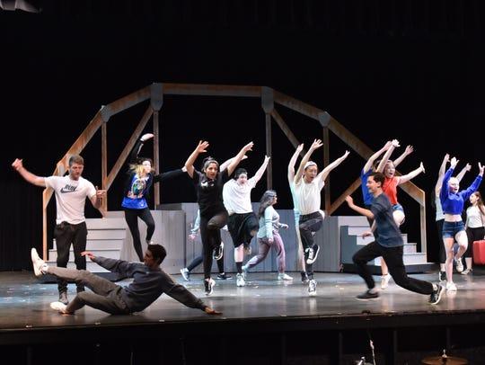 Students bring life in musical Footloose at Norton