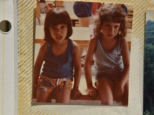 Freuman, left, and her older sister, Sara Duker.