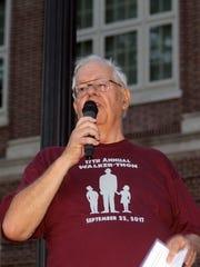 Walt Smith, president of the John H. Walker Memorial
