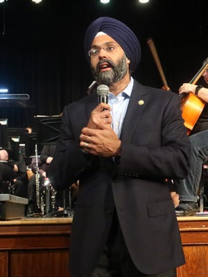 New Jersey State Attorney General Gurbir S. Grewal, who is also a resident of Glen Rock, congratulated the Glen Rock Police Department on their 100th Anniversary.