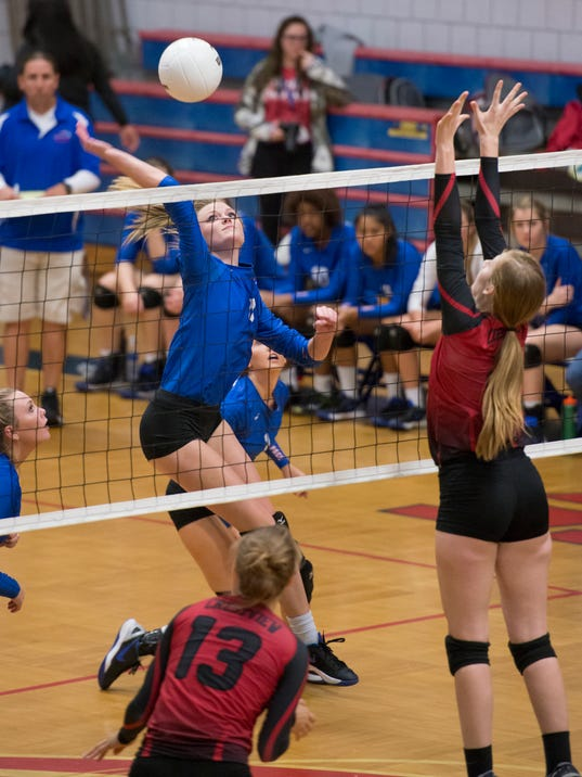 Crestview vs Pace volleyball