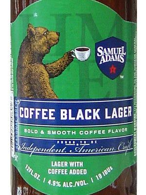 Samuel Adams Coffee Black Lager, from Boston Beer Co. in Boston, is 4.9% ABV.