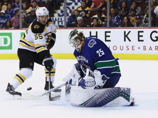 Image result for canucks-bruins 2018
