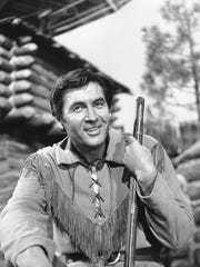 """Fess Parker starred as the title character in the 1964-70 series """"Daniel Boone."""""""