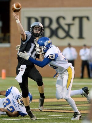 Robbinsvillle quarterback Colton Millsaps is the Smoky Mountain Conference Back of the Year.