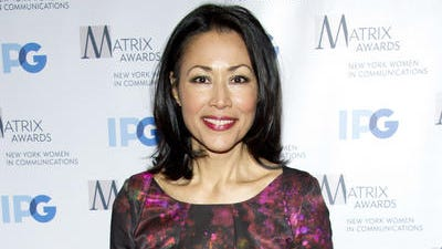 This April 23, 2012 file photo shows Ann Curry at the Matrix Awards in New York. Curry was rescued by a troop of New Jersey Boy Scouts when she broke her leg while hiking with her family on Bear Mountain in Harriman State Park on April 5. Members of Troop 368 from Berkeley Heights, New Jersey, stopped to help the injured NBC News correspondent, creating a splint for her ankle and fashioning a stretcher from logs and a tarp. They then carried her down the mountain.