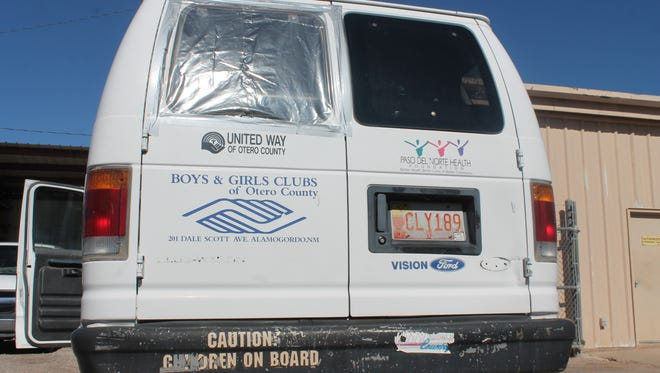 All four of the vans owned by the Otero County Boys and Girls Club were vandalized last week. The vandalism cost more than $3,000 in damages.