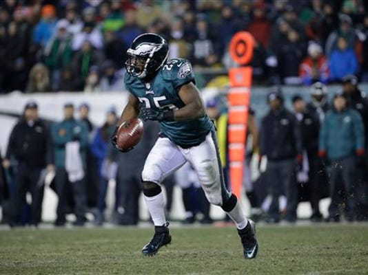 MATT ROURKE -- THE ASSOCIATED PRESS  Philadelphia Eagles' running back LeSean McCoy had a phenomenal season under first-year coach Chip Kelly. Should we expect much of the same from Shady in 2014?