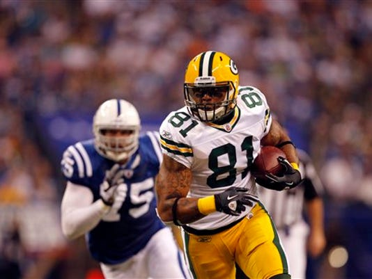Green Bay tight end Andrew Quarless earned a Super Bowl title in his rookie season.