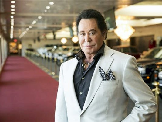 In this Sept. 8 photo, Wayne Newton poses for a photo at his home in Las Vegas.