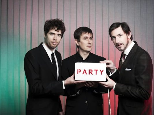 John Darnielle, Peter Hughes and Jon Wurster, aka The Mountain Goats, will serenade fans Saturday, March 26, at the Capitol Theatre in York.